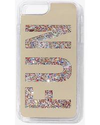 Forever 21 Fun Graphic Case For Iphone 6/7/8 Plus - Metallic