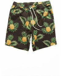 Forever 21 - Pineapple Print Shorts - Lyst