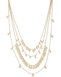 Forever 21 - Layered Disc Charm Chain Necklace - Lyst
