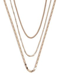 Forever 21 - Choker Necklace Set - Lyst