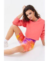 Forever 21 Tie-dye Biker Shorts - Multicolor