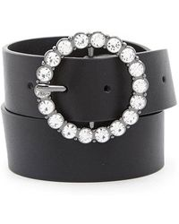 Forever 21 - O-ring Faux Leather Belt - Lyst