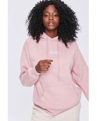 Forever 21 Honey Graphic Hoodie - Pink