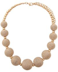 Forever 21 - Beaded Statement Necklace - Lyst