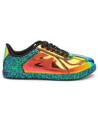 Forever 21 - Qupid Metallic Glitter Sneakers - Lyst