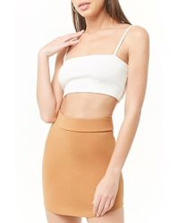 9a6328293a Forever 21 Contemporary Sequined Bodycon Skirt in Metallic - Lyst