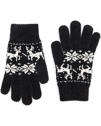 Forever 21 - Fair Isle Chenille Gloves - Lyst