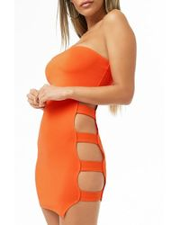 Forever 21 - Ladder Cutout Tube Dress - Lyst