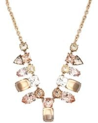 Forever 21 - Faux Gem Statement Necklace - Lyst