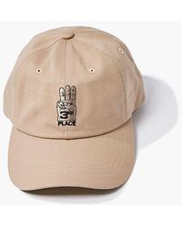 Forever 21 Third Place Embroidered Graphic Dad Cap - Multicolour