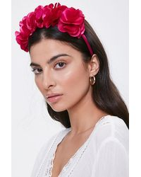 Forever 21 Floral Structured Headband - Multicolour