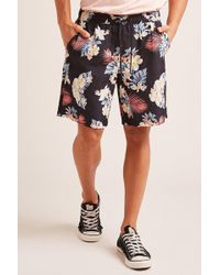 Forever 21 - Floral Print Swim Trunks - Lyst