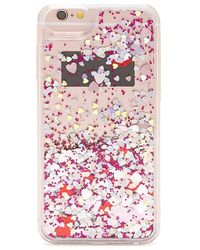 Forever 21 Confetti Case For Iphone 6/6s/7/8 - Pink
