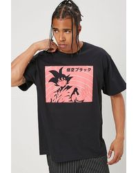Forever 21 Dragon Ball Z Graphic Tee - Black