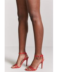 Forever 21 - Faux Leather Stiletto Heels - Lyst