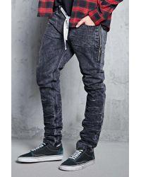 Forever 21 - Pull Ring Crinkled Jeans - Lyst