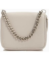 Forever 21 Chain-strap Mini Wallet - Grey