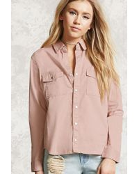 Forever 21 - Snap-button Shirt - Lyst