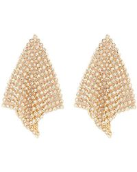 Forever 21 - Chainmail Drop Earrings - Lyst