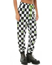 Forever 21 - The Grinch Print Checkered Joggers - Lyst