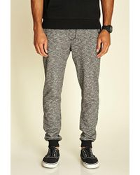 Forever 21 - Marled Knit Drawstring Joggers - Lyst