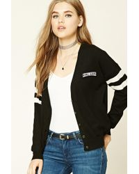 Forever 21 - Girl Gang Patched Cardigan - Lyst