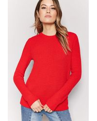 Forever 21 - Honeycomb Knit Jumper - Lyst