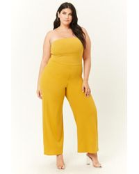 Forever 21 - Plus Size Tube Jumpsuit - Lyst