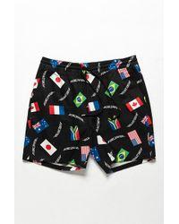 Forever 21 - Worldwide Flag Print Shorts - Lyst