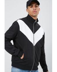 2045dccba 's Chevron Colorblock Jacket - Black