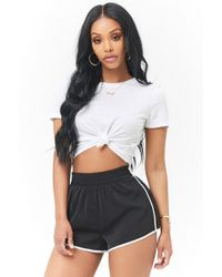 Forever 21 - Ringer Tearaway Shorts - Lyst