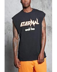 Forever 21 - Eternal World Tour Muscle Tee - Lyst