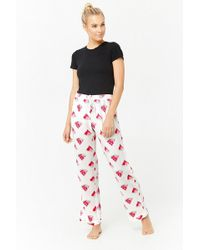 Forever 21 - Watermelon Graphic Pajama Pants - Lyst