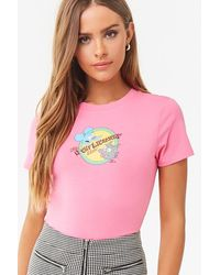 Forever 21 The Simpsons Graphic Tee , Pink/multi