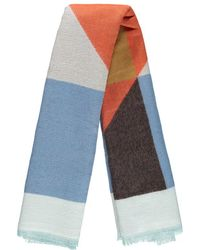 Forever 21 - Marled Knit Colorblock Oblong Scarf - Lyst