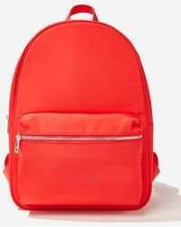 Forever 21 Zip-top Backpack - Red