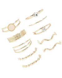 Forever 21 - Women's Assorted Stackable Ring Set - Lyst