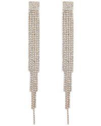 Forever 21 - Women's Rhinestone Duster Earrings - Lyst