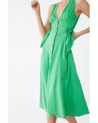 025e6caf2da Forever 21 Classic Striped T-shirt Dress in Black - Lyst