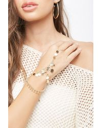 Forever 21 - Disc Charm Hand Chain - Lyst