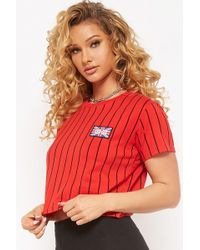 Forever 21 - Striped United Kingdom Flag Patch Tee - Lyst