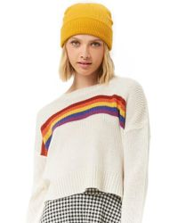 Forever 21 - Striped Purl Knit Sweater - Lyst