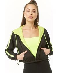 Forever 21 - Textured Cropped Jacket - Lyst