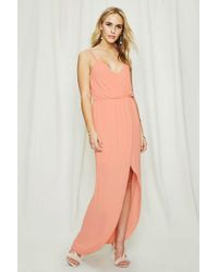 Forever 21 - Pretty By Rory Surplice Dress - Lyst