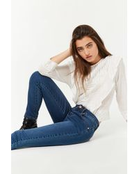 Forever 21 - Mid-rise Skinny Ankle Jeans - Lyst