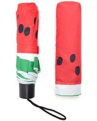 Forever 21 Watermelon Print Umbrella - Red