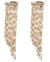 Forever 21 - Chain Duster Earrings - Lyst