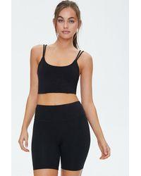 Forever 21 Active Biker Shorts - Black