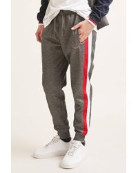 Forever 21 - Lotto Striped Track Pants - Lyst