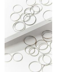 Forever 21 Stackable Ring Set - Metallic
